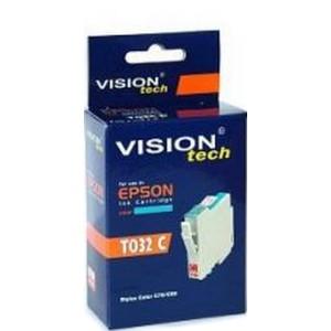 Kompatibil Epson T032-2, cyan Vision