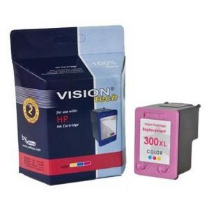 Kompatibil HP 300XL, color Vision