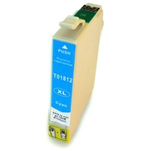 Kompatibil Epson T181-2 cyan