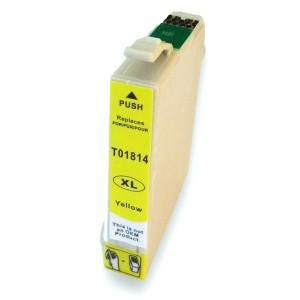 Kompatibil Epson T181-4 yellow