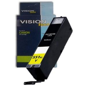 Kompatibil Canon CLI-551Y XL yellow Vision
