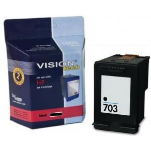 Kompatibil HP 703, black Vision