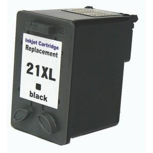 Kompatibil HP 21 XL, black