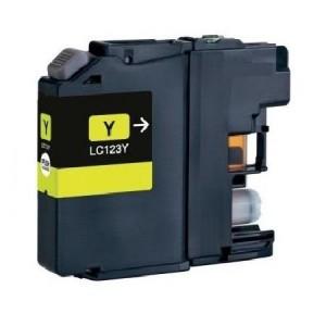 Kompatibil Brother LC-123XL yellow