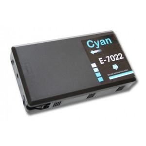 Kompatibil Epson T702-2, cyan