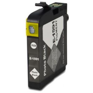 Kompatibil Epson T1591, photo black