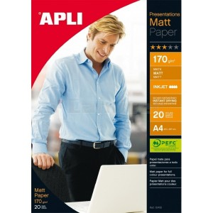 Papier APLI 10418 Matt Presentations A4 170 g/m2, 20 ks