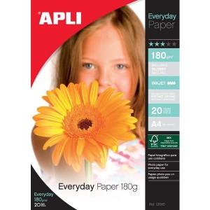 Papier APLI 12080 Glossy Everyday A4 180 g/m2, 20 ks