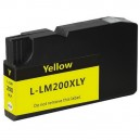 Kompatibil Lexmark 200XL / 210XL, yellow