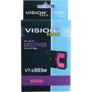 Kompatibil Brother LC-985M magenta Vision