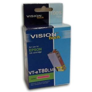 Kompatibil Epson T080-6 lightmagenta Vision