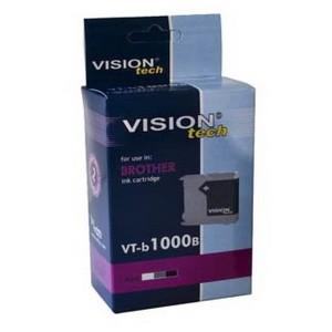 Kompatibil Brother LC-1000Bk, black Vision