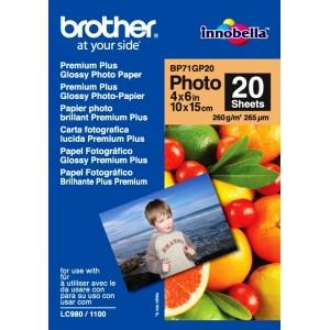 Papier Brother 10x15 Glossy 260 g/m2, 20 ks