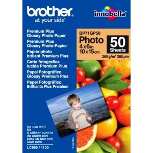 Papier Brother 10x15 Glossy 260 g/m2, 50 ks
